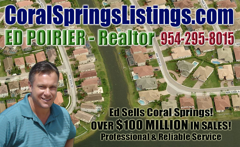 CORAL SPRINGS REAL ESTATE FOR SALE