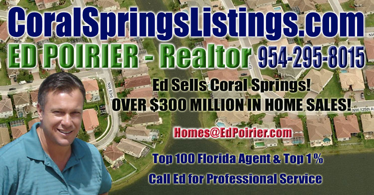 Coral Springs Listings - Ed Poirier Team